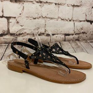 🆕MICHAEL Kors Leather Studded Sandal, Size 9